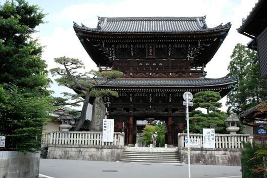 清涼寺の山門.JPG
