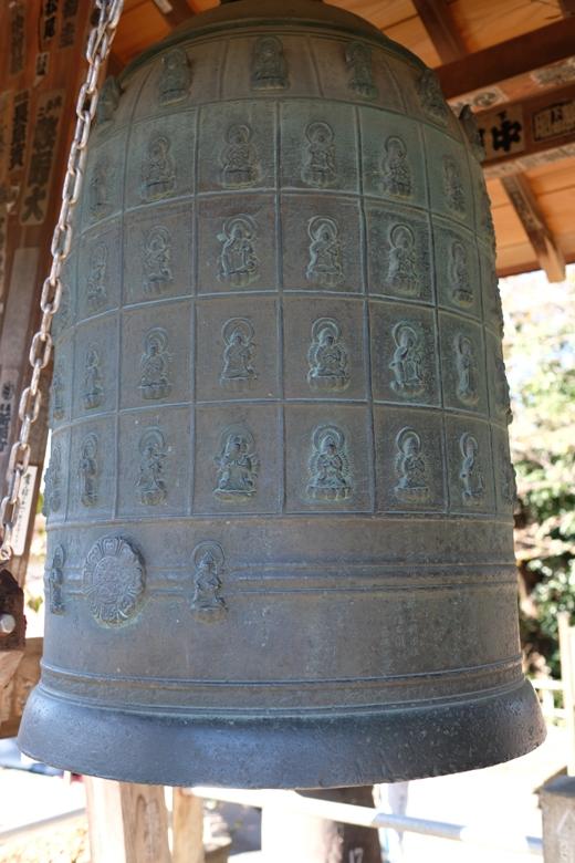 17番定林寺の銅鐘(県指定文化財).JPG